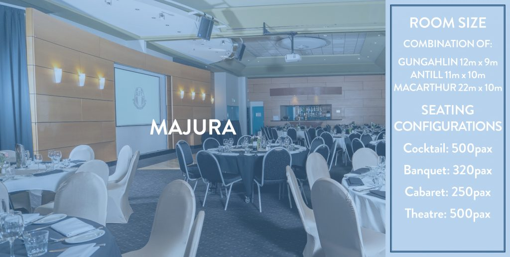 Ainslie Football Club Functions - Majura Room