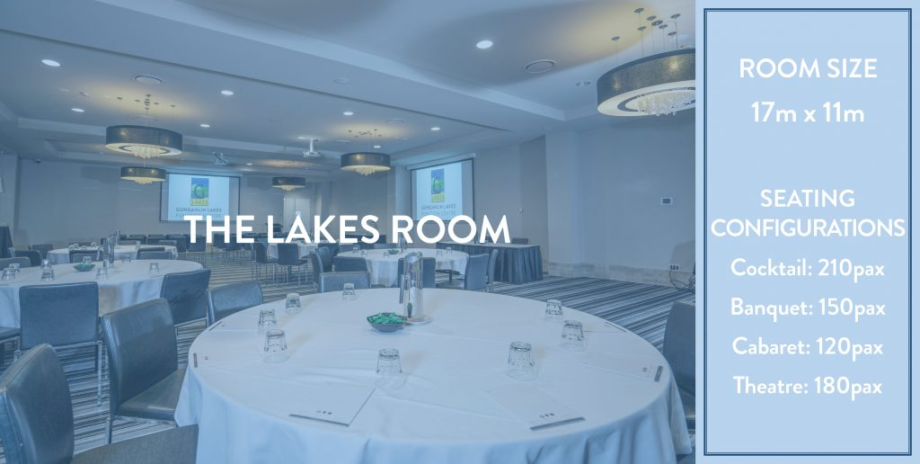 Gungahlin Lakes Club Functions - The Lakes Room