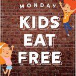 Monday Kids Eat Free - Gungahlin Club
