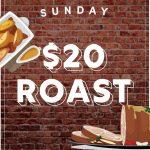 Sunday $20 Roast - Gungahlin Club
