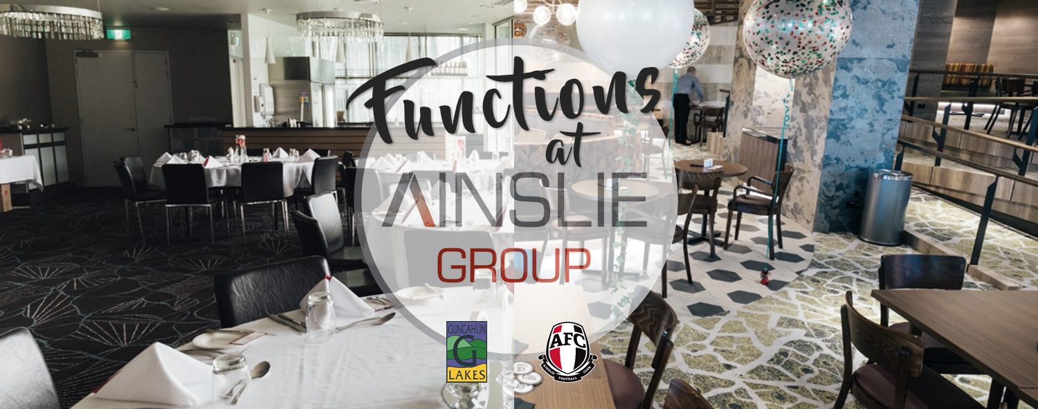 Ainslie Football Club | Gungahlin Lakes Club Functions