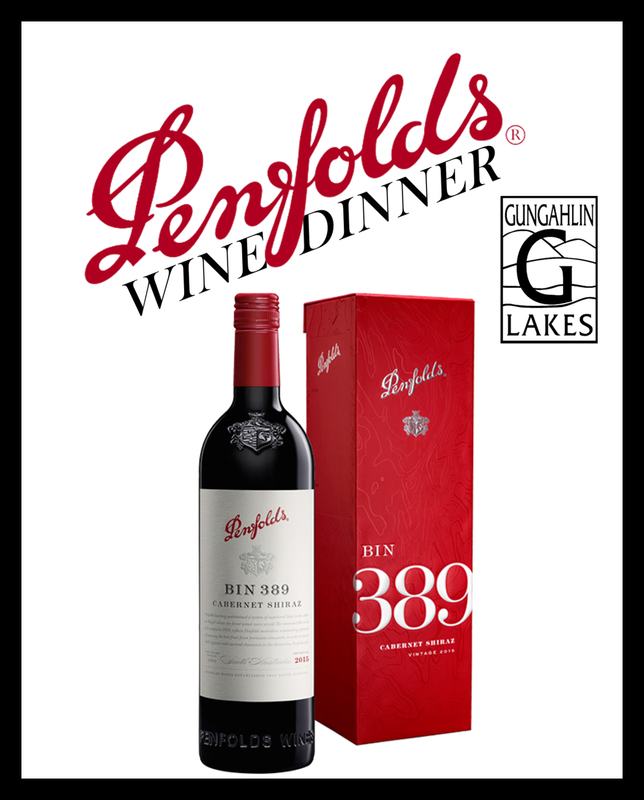 Penfolds Wine Dinner at Gungahlin Lakes - Temporary Icon
