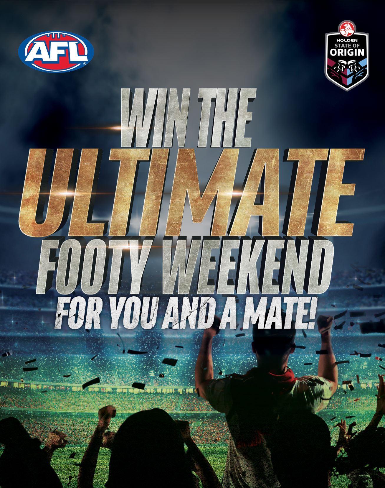 Ulitmate Footy Weekend