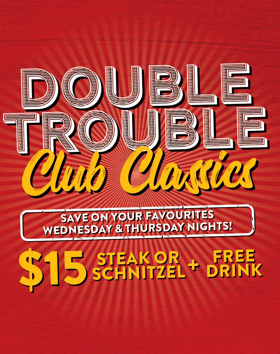 Double Trouble Club Classics
