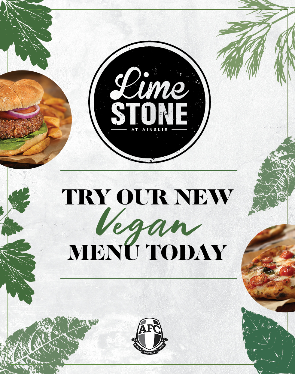 Limestone Kitchen - Try our new vegan menu today